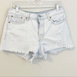 Vintage Levis Cut Off Red Tab Jean Shorts